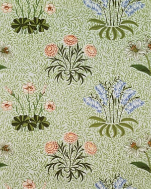 Wallpaper by William Morris, from 1870.