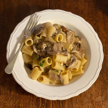 Mushroom pasta by America's Test Kitchen