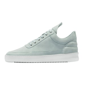 light blue trainers with white sole Filling Pieces