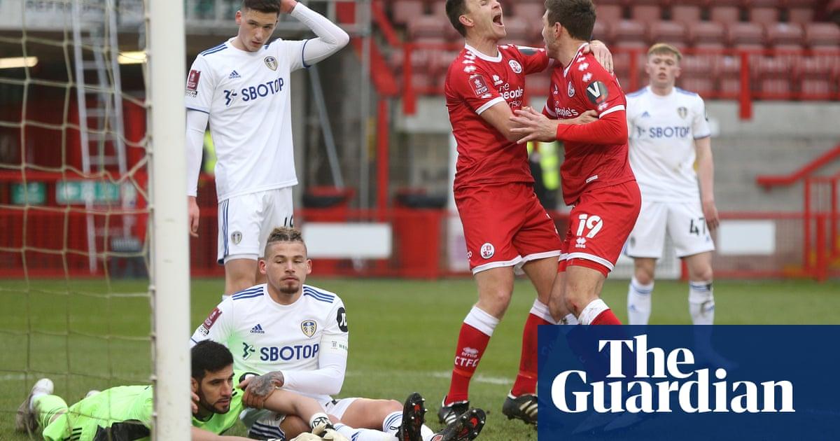 Crawleys second-half treble stuns Marcelo Bielsas Leeds in FA Cup