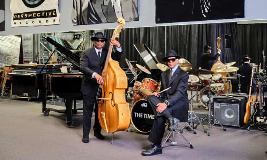 'I never had any problem with him being the boss, because he earned that right' ... Terry Lewis, left, with Jimmy Jam.