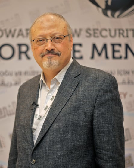 Saudi journalist Jamal Khashoggi, who is believed to have been murdered in the Saudi consulate.