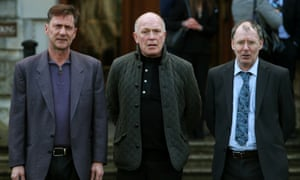 Former Kincora residents, from left to right, Richard Kerr, Gary Hoy, and Clint Massey. At least 29 boys were abused at the East Belfast home.