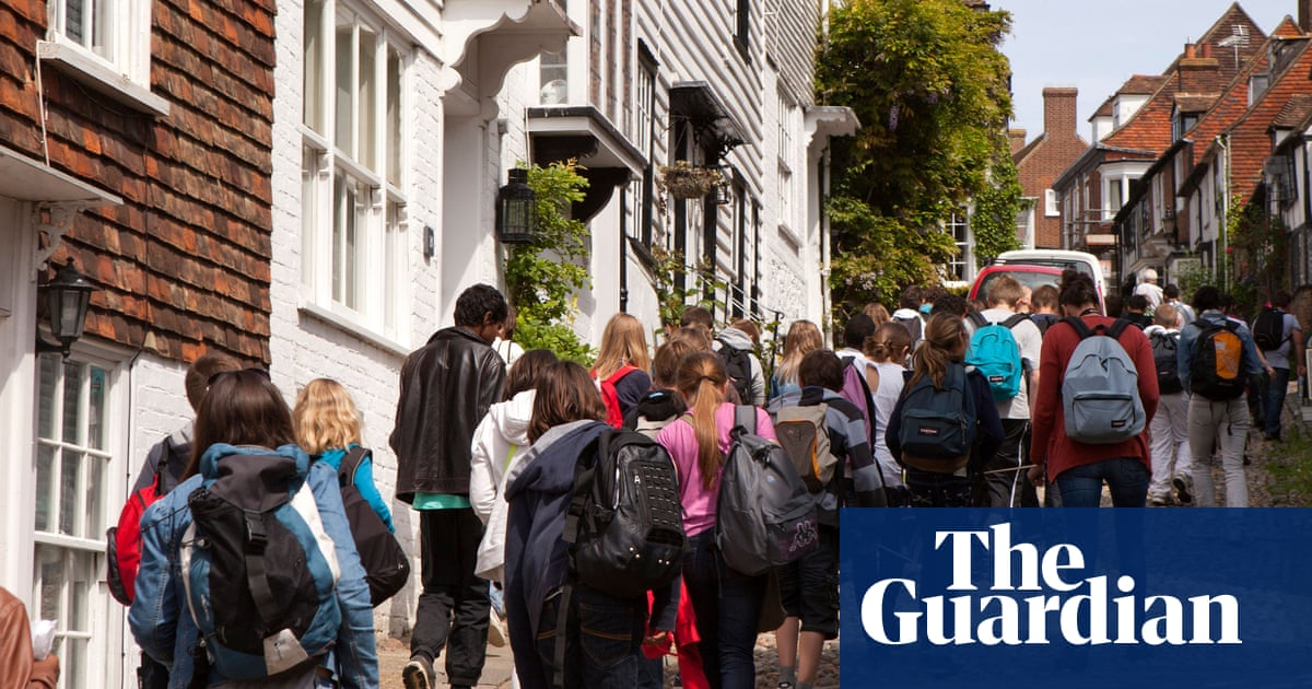 Are school trips a threat to the security of Britain's borders?