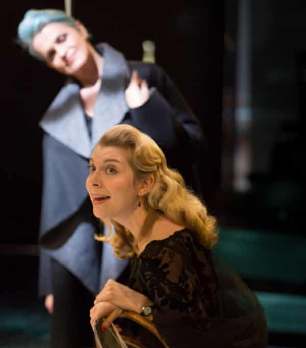 Kate Kennedy (centre) as Olivia in Twelfth Night.