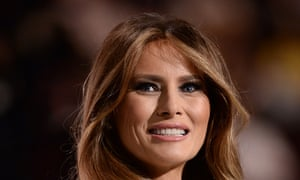 Melania Trump has spoken out against cyberbullying, despite her husbands language online.