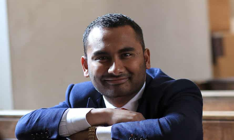 Amol Rajan. The BBC's director of news said he conducted interviews with 'sharpness and grace'.