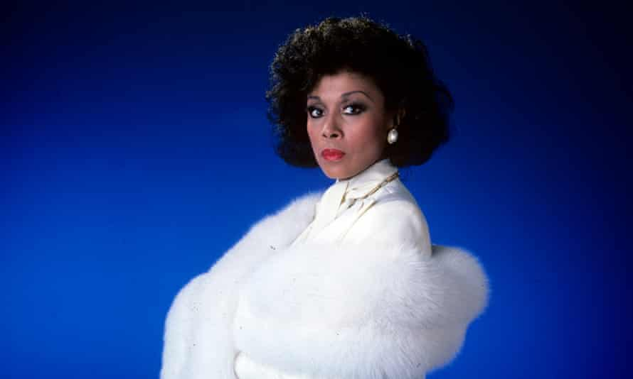 Diahann Carroll in Dynasty, which she appeared in for three years in the 1980s.