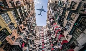 The price of flights to Asia (Hong Kong pictured) can suddenly plummet