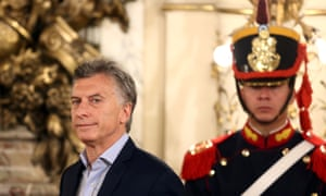 Macri said: 'We need to make many reforms. We've done some already, but looking ahead, there's still a lot to be done.'