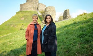Julie Hesmondhalgh and Dawn French in The Trouble With Maggie Cole.