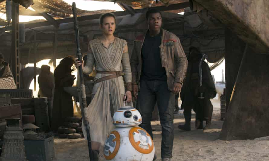 Equal-opportunities space opera ... Star Wars: The Force Awakens.