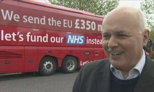 """关于NHS钱的IDS:""""我从来没有这么说过。""""来自@ RobDotHutton的推特提要"""