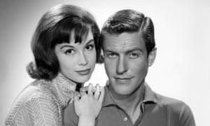 Mary Tyler Moore and Dick Van Dyke in 1961.