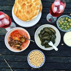 Turkish feast.