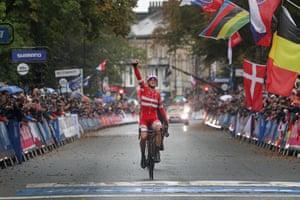The Danish rider Mads Pedersen