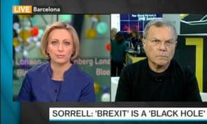 Sir Martin Sorrell on Bloomberg