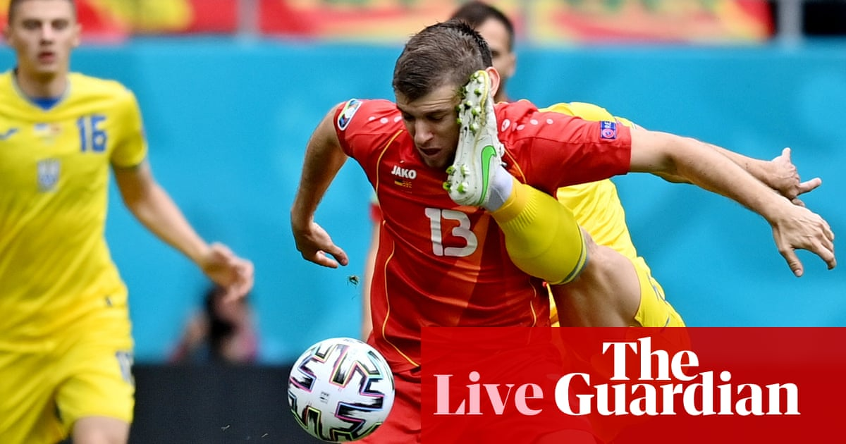 Ukraine v North Macedonia: Euro 2020 – live!