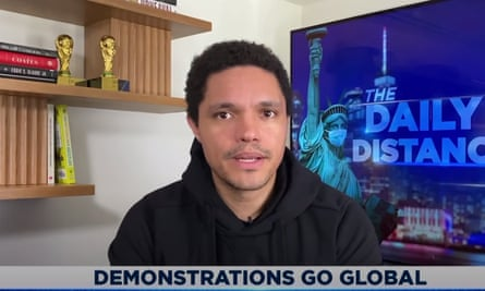Trevor Noah: 'Well, you know what? I hope those people are hungry, because they're going to be eating their words.'