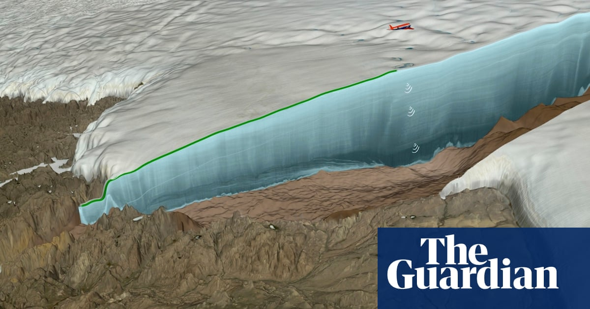 Impact crater 19 miles wide found beneath Greenland glacier