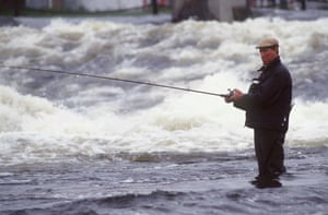 Jack Charlton fishing
