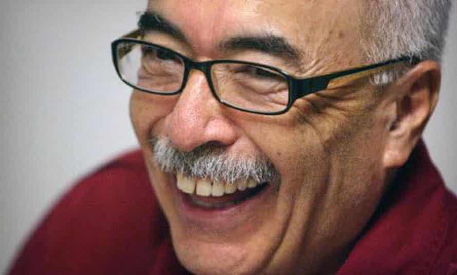Juan Felipe Herrera, the US's first Latino poet laurette
