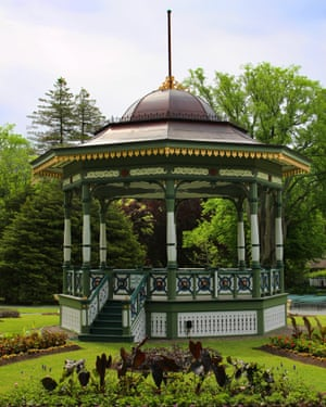 Bandstand, Halifax Public Gardens, Nova Scotia, Canada