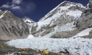 The edges of the Khumbu icefall