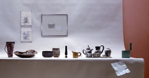 Works selected by the ceramic artist Alison Britton for The Maker's Eye exhibition at the Crafts Council, 1982.