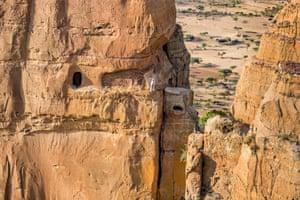Abuna Yemata church entrance