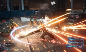 Final Fantasy 7 Remake overhauls the original game's Active Time Battle system with real-time elements.