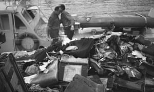 Wreckage from the crash was confiscated.