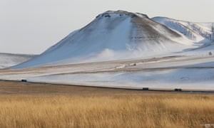 The steppe north of Akaban in Khakassia, a region few Russians have even heard of.