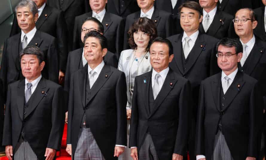 Shinzo Abe's new cabinet