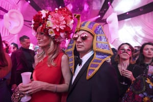 Paris, France: Guests attend the Dior Ball in the grounds of the Rodin Museum during haute couture fashion week