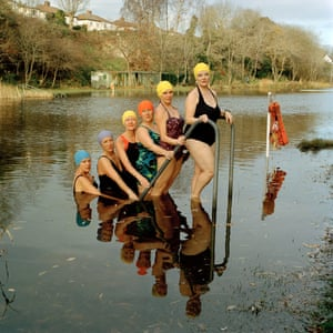 Eva Watkins – Synchronised SwimmingThis unique synchronised swimming group initially formed to celebrate the 100th year anniversary of Henleaze Lake in Bristol. The group consists of 80 people of mixed genders aged between 11-76, who were once strangers. Over time this group has created a space where strong friendships have formed, enabling them to share significant life moments with one another. Water immersion naturally releases oxytocin, providing a feeling of calm and positivity which allows bonds to form at a deeper level