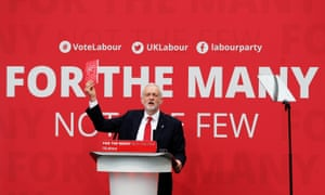 Jeremy Corbyn launches the Labour election manifesto at Bradford University.