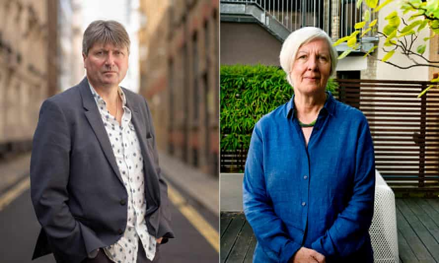 Poet laureate Simon Armitage and master of the Queen's music, Judith Weir.
