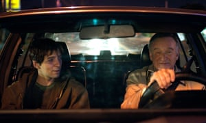 'Lugubrious': Roberto Aguire with Robin Williams in Boulevard