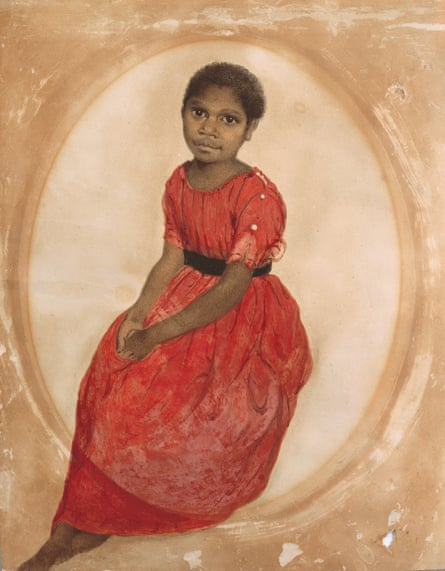 Mithina, 1842 by Thomas Bock.