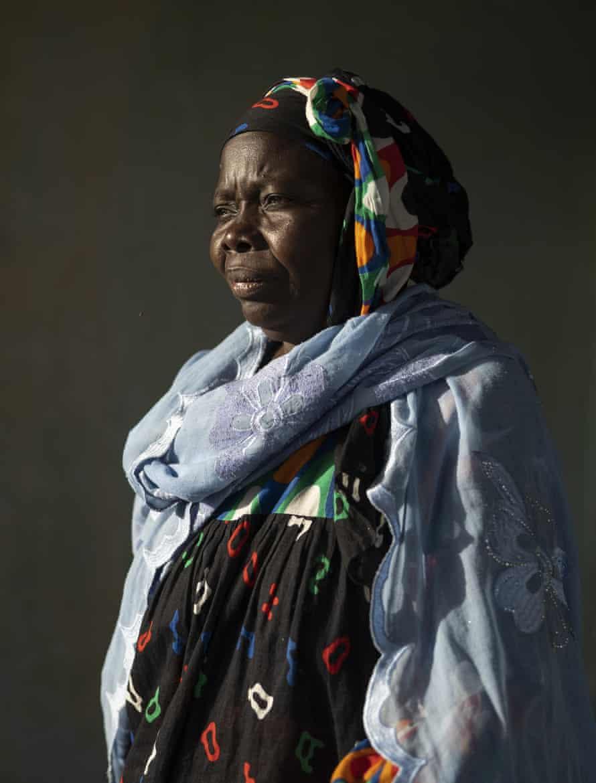 Ndeye Yacine Dieng at her home in Bargny, Senegal.