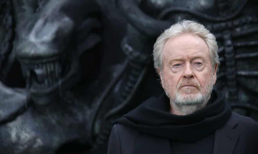 'I've just handed in a film with Matt Damon, Adam Driver, Jodie Comer and Ben Affleck' … Ridley Scott, who is refusing to let lockdown stop him.