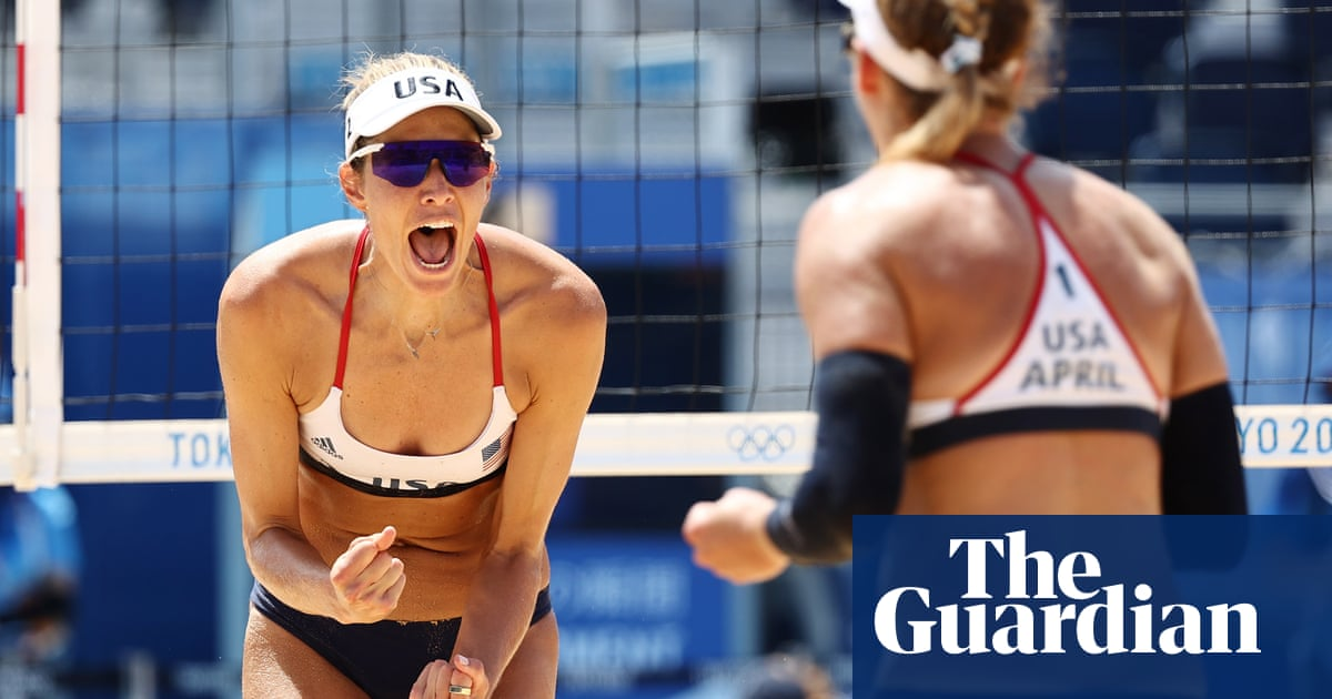 Beach volleyball: April Ross and Alix Klineman return US to sand-court glory
