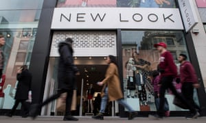 New Look shop on Oxford street