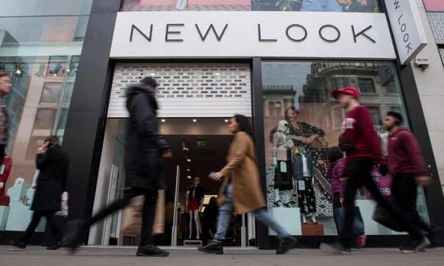 A New Look store on Oxford Street in London