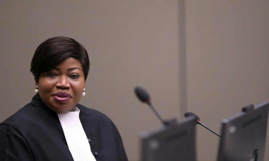 Fatou Bensouda is the chief prosecutor at the international criminal court.
