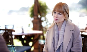 A masterclass in repressed anger ... Celeste (Nicole Kidman) in Big Little Lies.