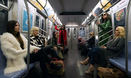 The all-star, all-female cast of Ocean's Eight