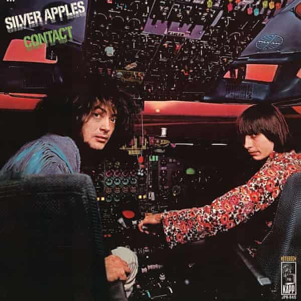 The front cover of Silver Apples: Contact.