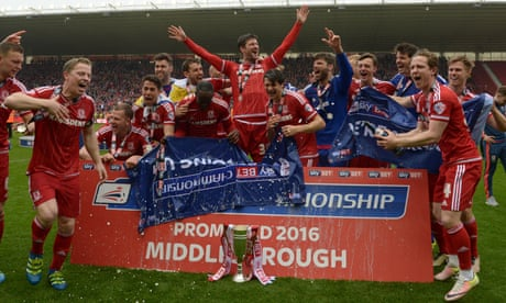 Middlesbrough promoted to Premier League after 1-1 draw with